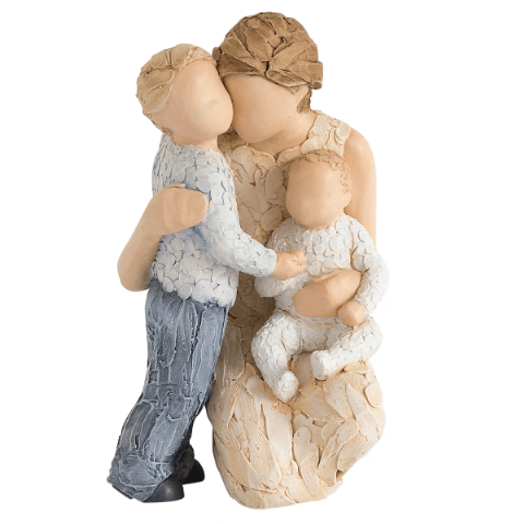 More Than Words Contentment Figurine